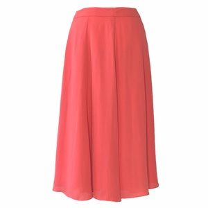 Love 21 Light and Flowy Coral Skirt